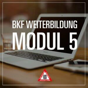 BKF Weiterbildung Modul 5 - Fahrschule Muelln